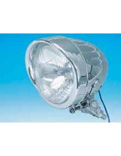 chrome long body bottom mount 4 1/2 inch spotlight