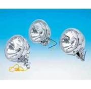 headlight auxiliary lights with diamond cut reflector