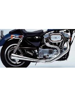 exhaust megaphone 2 into1 series Fits:> Evolution Sportster Sportster XL 1986 - 2003 except models with stock forward controls