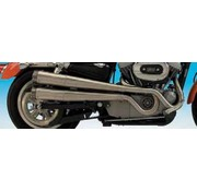 Supertrapp exhaust xr style 2-into-2 for Sportster XL