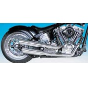 Supertrapp exhaust the original mean mother fat shots for right side drive Softail
