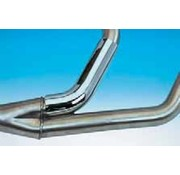 Supertrapp exhaust heat shield for supertrapp 2-into-1 systems