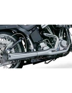 2-into-1 supermegs for softail and dyna models