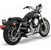 Vance and Hines exhaust staggered short shots Sportster XL Sportster XL 2 1/8 inch 99-13
