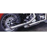 Cycle Shack exhaust baloney slice pipes for evolution Softail