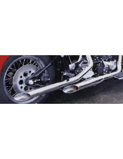 exhaust baloney slice pipes for evolution Softail
