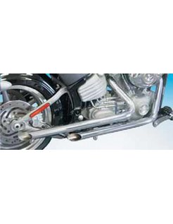 exhaust 1 3/4 inch  & 2 inch  drag pipes for rocker