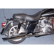 Cycle Shack exhaust Touring FLH/FLT duallies for 2007 to present Touring FLH/FLT