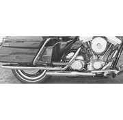 Cycle Shack exhaust tapered muffler pipes