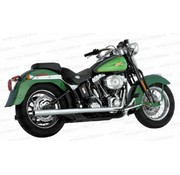 Vance and Hines exhaust true duals Fits:> Softail 87-11