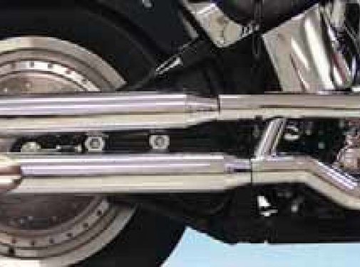 S&S exhaust slip-on muffler kits