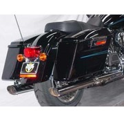 Cycle Shack exhaust oval tailpipes