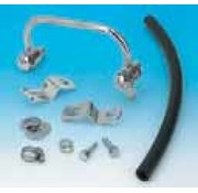 air cleaner Chrome - -the-head breather kits