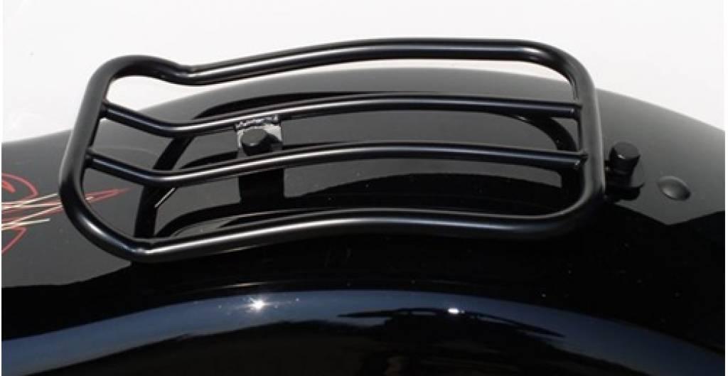 Luggage Rack Cross Bones Taco Motos American V Twin