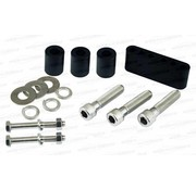Pingel exhaust front and rear floorboard extenders Touring FLH/FLT