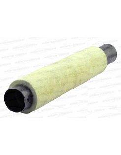 exhaust 3 inch slip-on muffler replacement baffle
