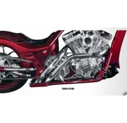 LA Choppers exhaust custom