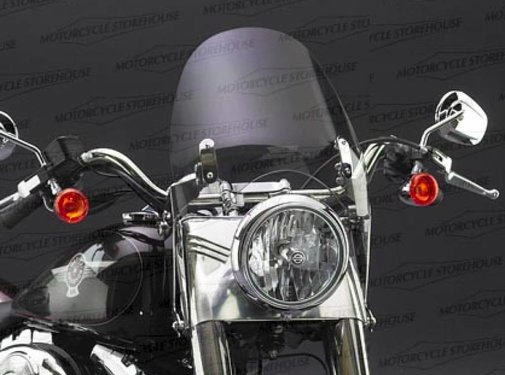 National cycle windshield switchblade deflector