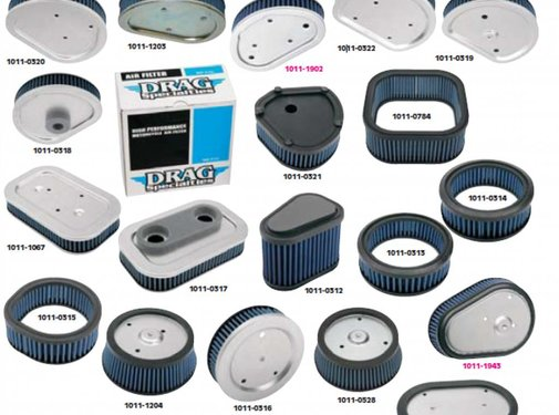 Prog. Suspension air cleaner replacement air filters