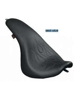 seat  short hop 2-up extra large for 06-12 Dyna GLIDE