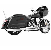 exhaust black or Chrome union 2 into 1