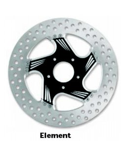 contrast-cut 2-piece brake rotor
