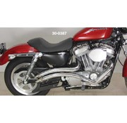 Radii exhaust curvado Sportster XL 1986-2012