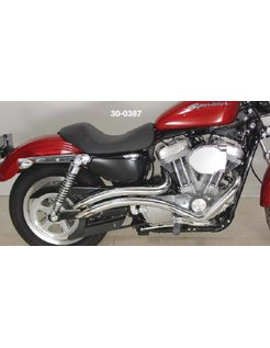 exhaust curvado Sportster XL 1986-2012