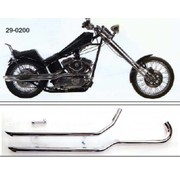 Radii exhaust shotgun Sportster XL 1986-2003