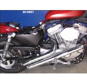 Radii exhaust 2 inch pipe Sportster XL 1986-2012