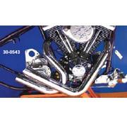 Radii Drag pipe Set Stack type Softail 1986-2006