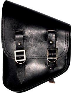 saddlebags black, Softail