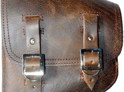 La Rosa bags saddlebags rustic brown