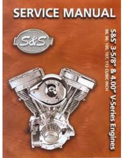 service manual, Service manual for S and S engine