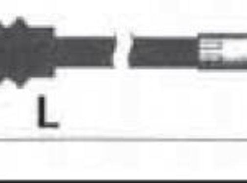 Barnett Kupplungszug - schwarz, 86-bis XL