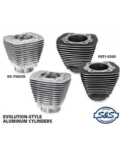 Harley Engine stock style cylinders for evolution