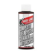 Red Line Synthetic oil Komplette Kraftstoffsystemreiniger für Motorräder