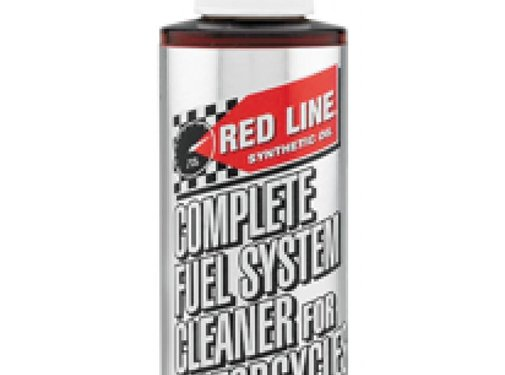 Red Line Synthetic oil Combustible completa System Cleaner para las motocicletas