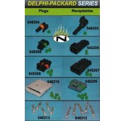 Namz cable delphi injection plugs and receptables Delphi injection plugs and receptables 1-5 pins