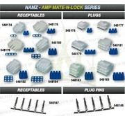 Namz Connecteur AMP, fiches et réceptacles