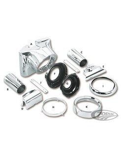 headlight housing conversion kit