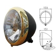headlight black and bronze ( eu approved)