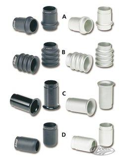 Auspuffendkappe passt direkt in 1 3/4 Zoll (44,5 mm) Außendurchmesser