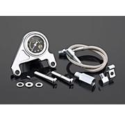 Arlen Ness Oil pressure gauge kit smooth