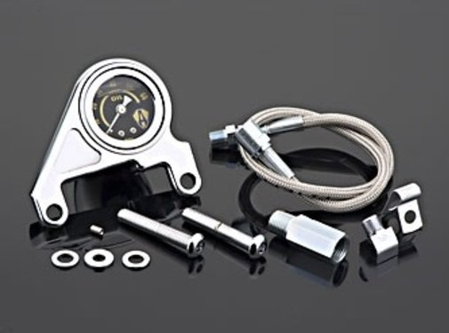Arlen Ness Oil pressure gauge kit smooth