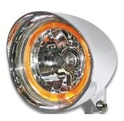 headlight flamed