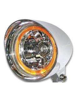 headlight flamed