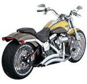 Vance and Hines exhaust Big radius 2-into-2 Chrome FXSB(SE) Breakout 13-16