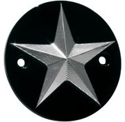 NYC Choppers Point cover nautical star Fits:> 1970-1999 Evo and Sportster XL 86-14