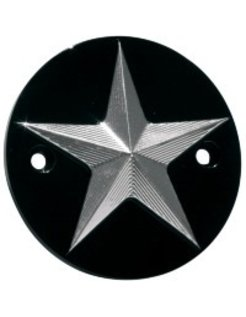 Harley Engine point cover nautical star, fits: 1970-1999 Evo, and Sportster 86-14